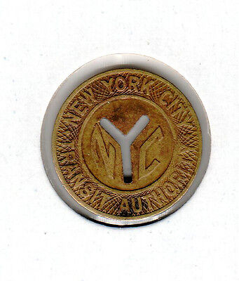 Token - New York City Transit Authority  Nyc  Good For One Fare