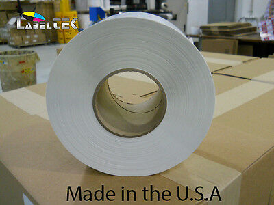 """4000 4x6 Direct Thermal Labels 1,000/roll- 4 ROLLS - 3"""" core"""