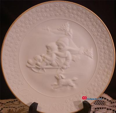 Avon Canada Christmas 1985 A Child's Christmas Plate