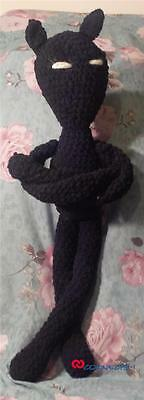 "Hand Made Crocheted Exotic Cat - Over 20"" Tall !"