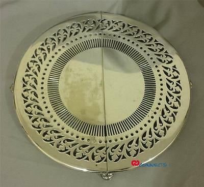 Antique Standard Silver Company Expandable Silverplate Trivet