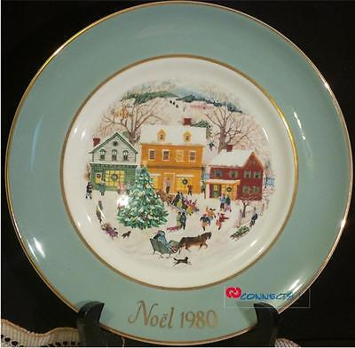 Avon Canada Christmas 1980 Country Christmas Plate