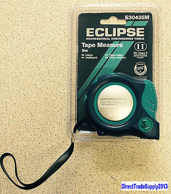 Eclipse Tape Measure 5m Metric Only E30435M (Multipacks 1,5,10)