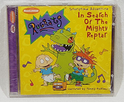In Search of the Mighty Reptar by Rugrats (CD, Jul-1999, Kid Rhino (Label))