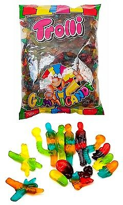 Trolli Horror Mix 2kg Bag Candy Buffet Gummy Jelly Lollies Halloween Party Favor