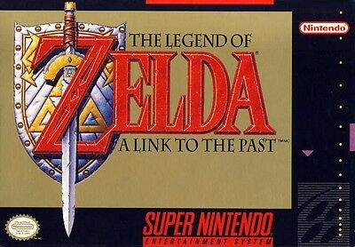 SNES The Legend of Zelda: A Link to the Past Game Cartridge *Cosmetic Wear*