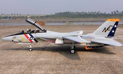 F-14 Tomcat  80 inch Wing   Giant Scale RC AIrplane Printed Plans & Templates