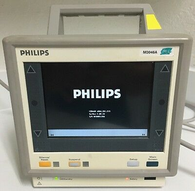 Philips M3  M3046A Patient Monitor