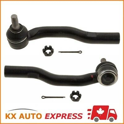 2X Front Outer Tie Rod End For Honda Cr-V 1997 1998 1999 2000 20001