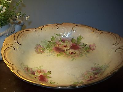 Antique Early 20th century Royal Devon/ SF and Co. Beautiful Fruit Bowl