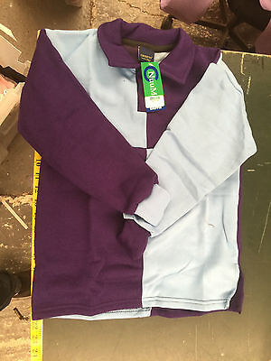 Griffin Nuumed X Country Shirt Lilac Purple Childs Age 8-10 Years Purple Coll