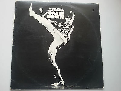 David Bowie - Man Who Sold the World Vinyl LP UK 1973 Press 2E/1E