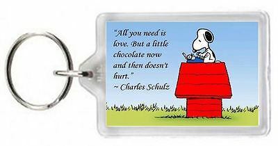 Love Chocolate Hurt Dog Schulz Snoopy Character Quotes Saying Gift Present Novel