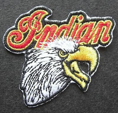 Indian Bald Eagle - Sew On Biker Motorcycle Patch