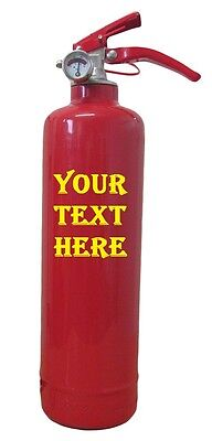 Customised Dry Powder Abc Fire Extinguisher Home Office Car Kitchen. Ce Marked