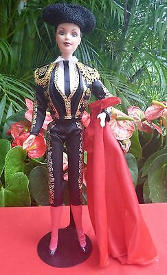 Dolls of the World Barbie as Spanish Matador, Dressed and Complete