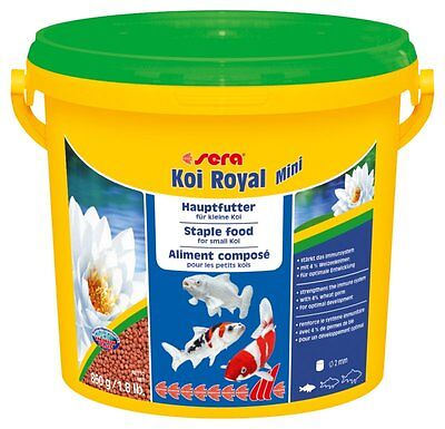 Sera Koi Royal Mini 3.8l Staple food for the optimal development of Koi