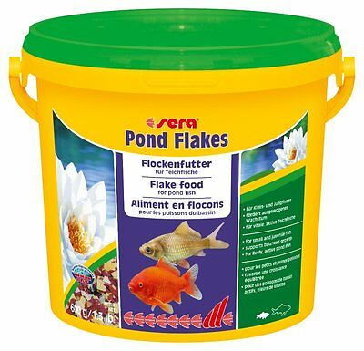 Sera Pond Flakes 3.8l/600gr The flake food for smaller pond fish