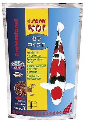 Sera KOI Professional Spring/Autumn Food 1000gr