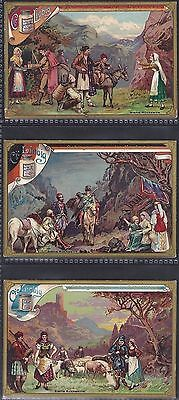 Liebig-*s0490*-Full Set Of 6 Cards- German - Mountain People I