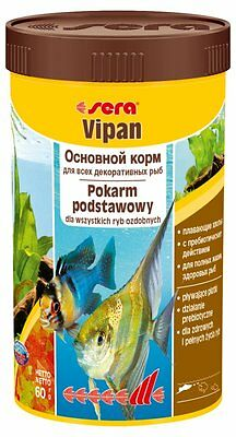 Sera Vipan The staple food for all ornamental fish Tropical Flakes