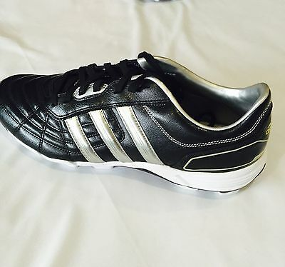 NEW adidas 118 Performance Rugby Boots Blk Silver Wht G18610 Synthetic/Traxion