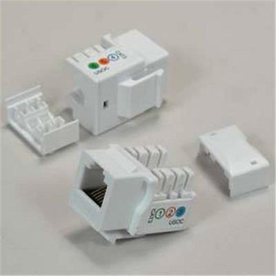 10 pack rj11 12 cat 3 110 type keystone jack white 11 76 rh picclick com