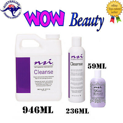 NSI Cleanse - Cleans Nail & Tacky Layer Remover