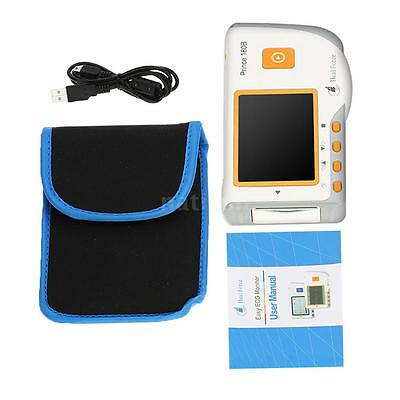Prince 180B Heal Force Easy ECG Monitor for Use in Clinics and Homes O1K1