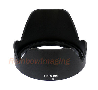 Bayonet Lens Hood for NIKON AF-P DX NIKKOR 18-55mm f3.5-5.6G VR replaces HB-N106
