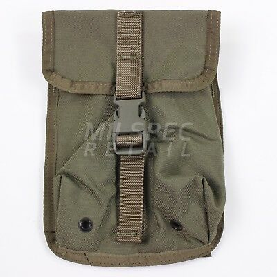 Paraclete SAW Drum Magazine Pouch MOLLE SG Smoke Green NEW US ARMY