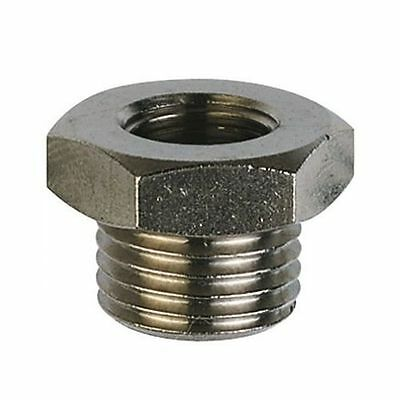 Brass BSP Reducing Bush Fitting Hex - Choose Sizes