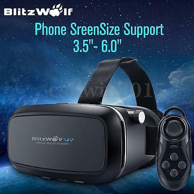 BlitzWolf VR Virtual Reality Glasses Remote Control For iPhone 7/Plus 6/6s/Plus