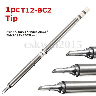 1PC Solder Iron Tips Soldering T12-BC2 Replace For FX-9501/HAKKO912/FM-2027/2028