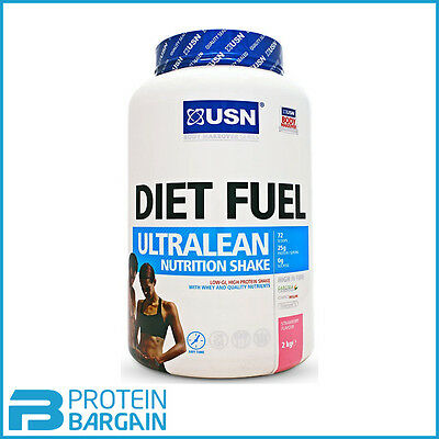 USN Diet Fuel Meal Replacement Weight Loss Shake 2kg Slimming Shake!!