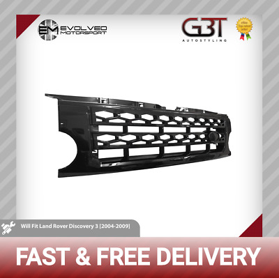 All black Discovery 3 front grille in the style of the Discovery 4! New! GB94