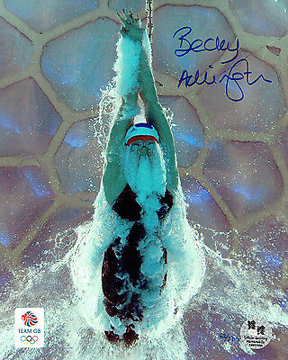 Rebecca ADLINGTON SIGNED Autograph Team GB Olympic Photo A AFTAL COA London 2012
