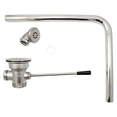 Commercial - 3 in Lever Drain With Overflow