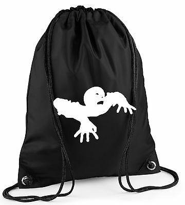 Zombie Duffle/Drawstring Bag. PE/Gym/School. Colour Choice
