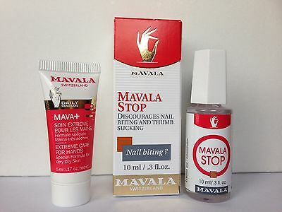 Mavala Stop For Nail Biting And Thumb Sucking 10 Ml W/ Free Gift With Purchase