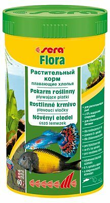 Sera Flora The herbal food consisting of floating flakes