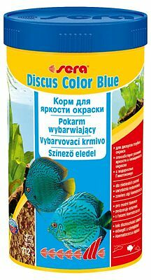 Sera Discus Color Blue  100ml,250ml Color food for all bluish discus fish