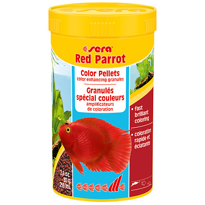 Sera Red parrot Special granulate for parrot cichlids