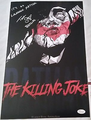 Tara STRONG SIGNED 11x17 photo JSA COA 1 Autograph The KILLING JOKE Batgirl