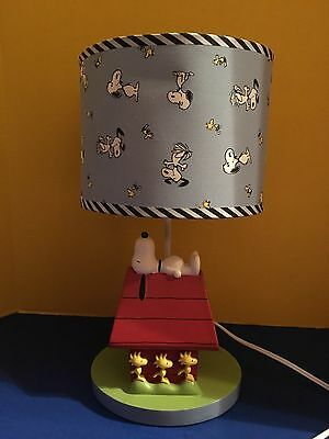 Snoopy Doghouse Lamp-Lambs & Ivy 2010