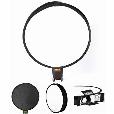 Universal Portable 40cm Flash Speedlite Diffuser Softbox For Nikon Canon Camera