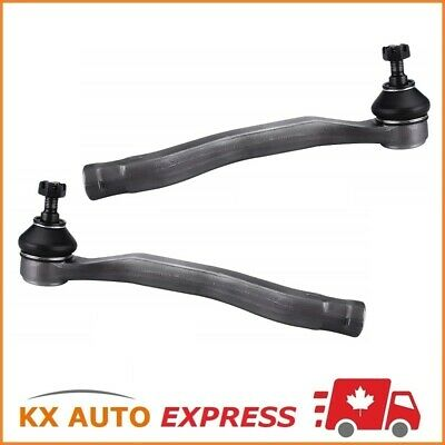 2X Front Outer Tie Rod End For Honda Accord 1998 1999 2000 2001 2002