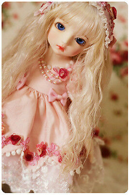 Bjd 1/6 Doll Girl ai Uri bjd doll FACE MAKE UP+FREE EYES-Uri