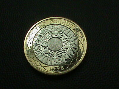 GREAT  BRITAIN    2 pounds    1998    PROOF