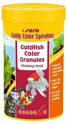 Sera Goldy Color Spirulina Color food for goldfish and other coldwater fish